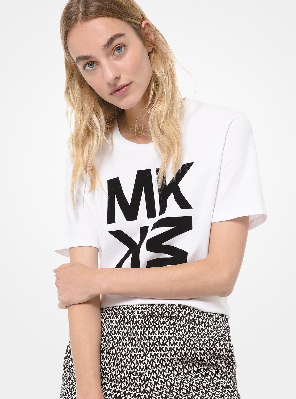 MK ロゴ グラフィック Tシャツ