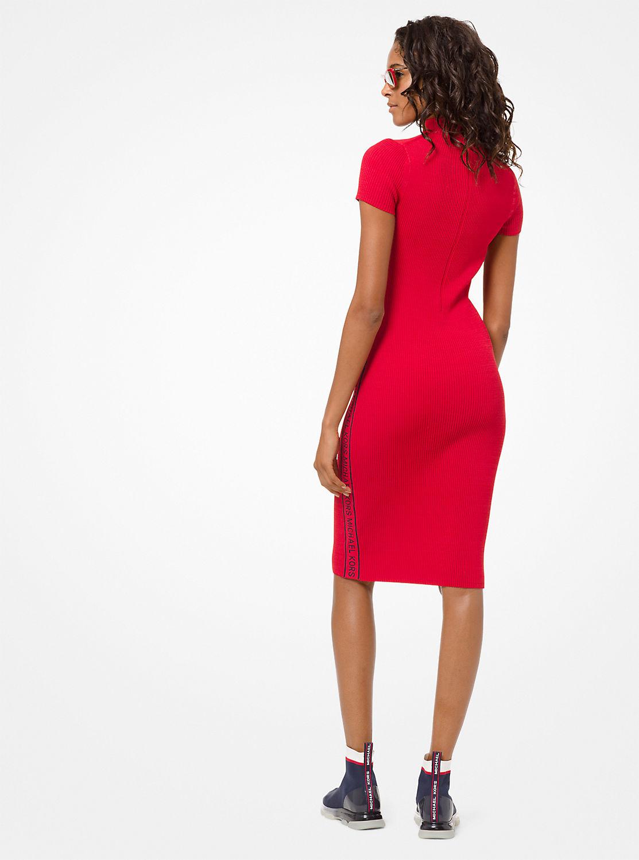 MK グラフィティ モック ドレス