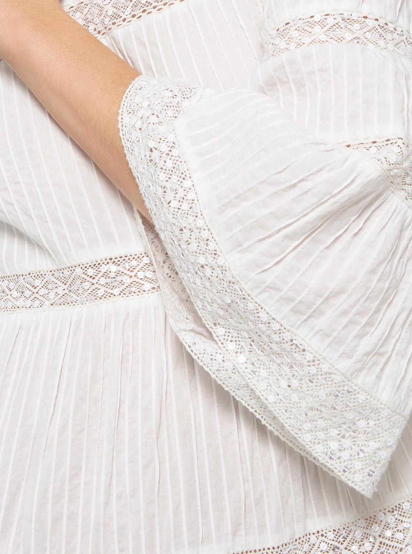 ピンタック コンボ ドレス