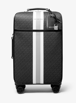 BEDFORD TRAVEL エクストララージ ロゴストライプ スーツケース