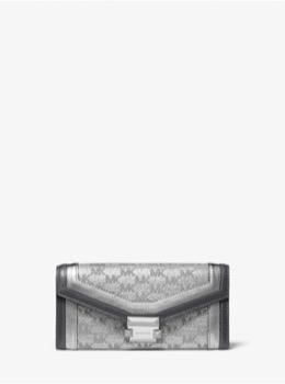 WHITNEY ラージ チェーン コンバーチブル キャリーオール
