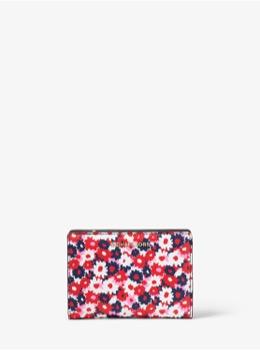 ミディアム カードケース キャリーオール - カーネーションプリント