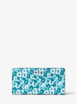 ラージ カードケース キャリーオール - カーネーションプリント