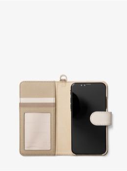 ELECTRONIC NOVELTY フォリオ スマホケース - トライカラー iPhone X
