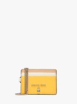 チェーン カードケース -トライカラー