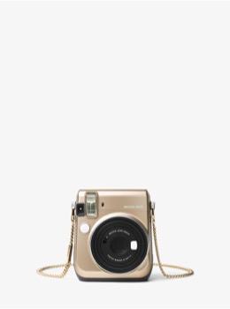 チェーン カメラストラップ ゴールド
