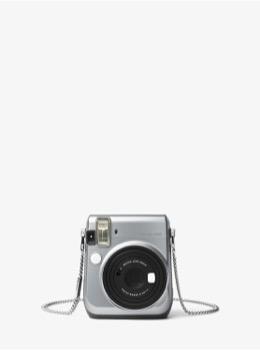 チェーン カメラストラップ シルバー