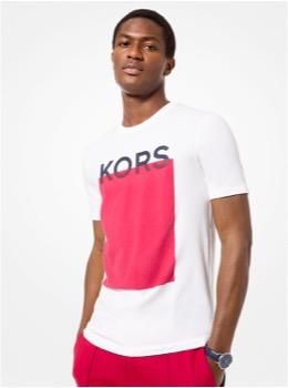 KORS ブロック グラフィック シャツ