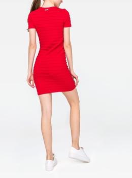 ミニ ラッフル ドレス