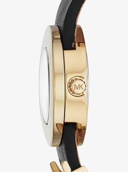 KORS LEATHER LETTERS 21MM ウォッチ