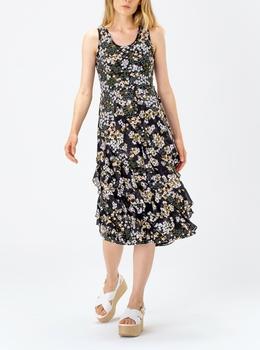 モッド グラム カスケード ドレス