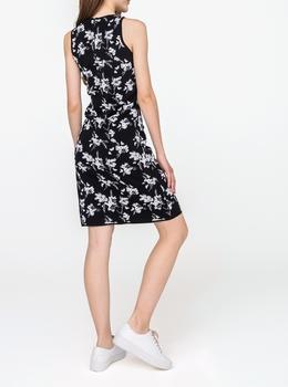 フラワー ジャカード タンク ドレス