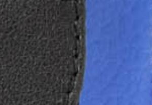ブラック/ポップブルー