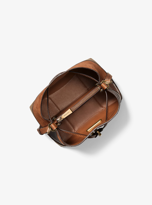 MERCER GALLERY 2ウェイ バケットバッグ スモール - マルチパッチワーク
