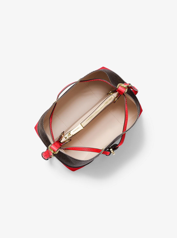 MERCER GALLERY スモール コンバーチブル バケットショルダー - MKロゴ