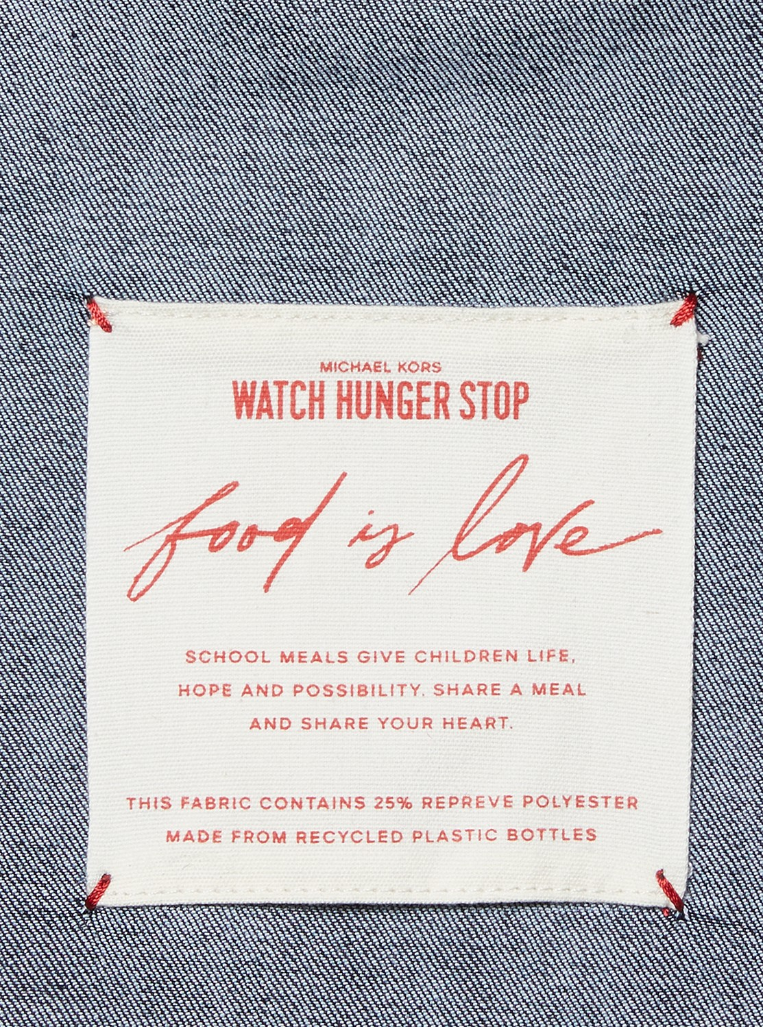 Watch Hunger Stop 2020 LOVEトートバッグ - チャリティ