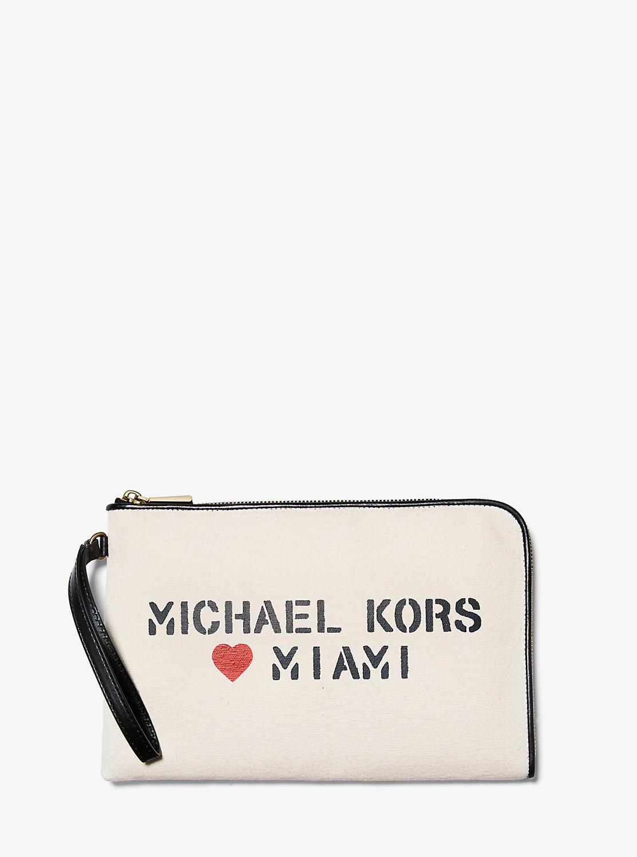 THE MICHAEL BAG ミディアム ポーチ - MIAMI