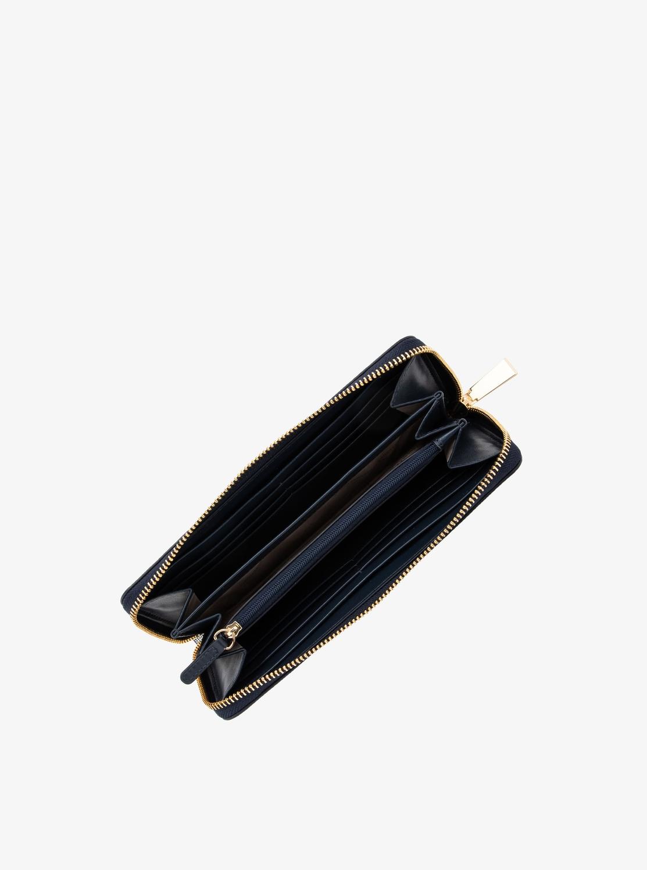 JET SET ポケット ジップアラウンド コンチネンタル ウォレット - MKロゴ コンビ