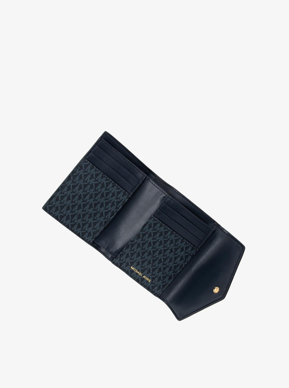 JET SET CHARM ミディアム エンベロープ カード ウォレット - MKシグネチャー