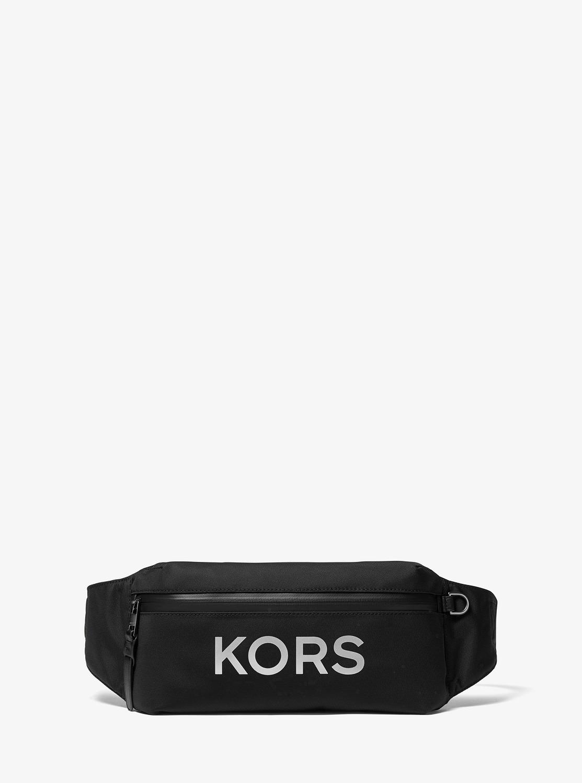 KORS x TECH KORSロゴ ヒップバッグ