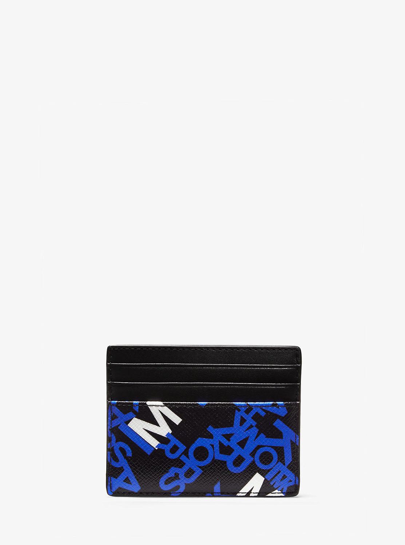 BROOKLYN グラフィックロゴ トール カードケース