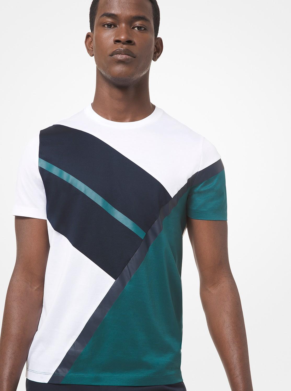 カラーブロック Tシャツ