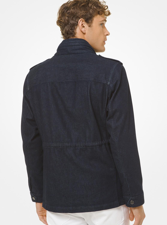 インディゴ フィールドジャケット
