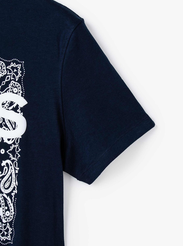 ペイズリーブロック Tシャツ