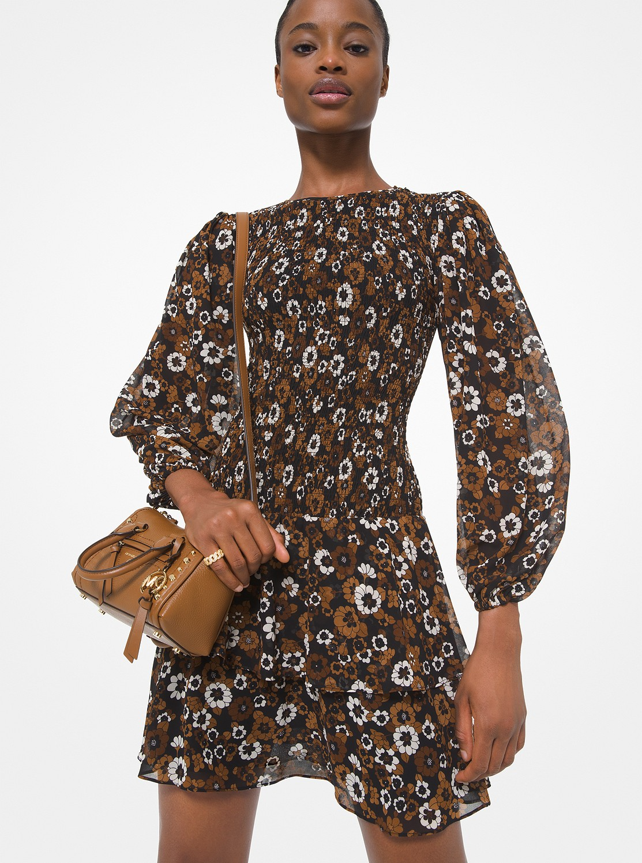 ガーデン スモックドレス