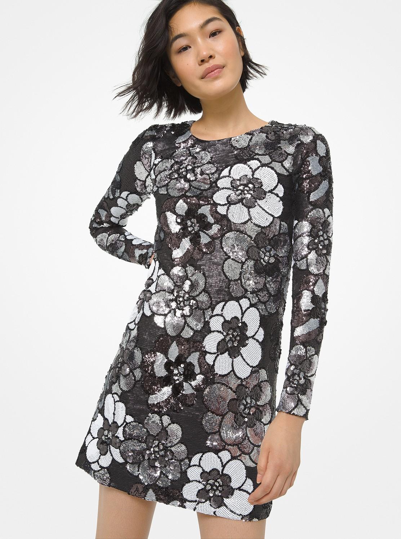 ジニア シークイン ドレス