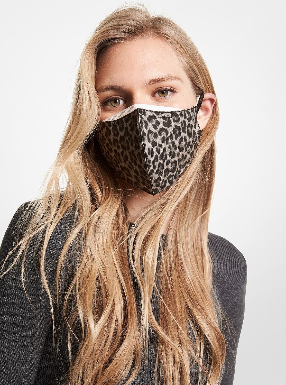 ユニセックス レオパード マスク