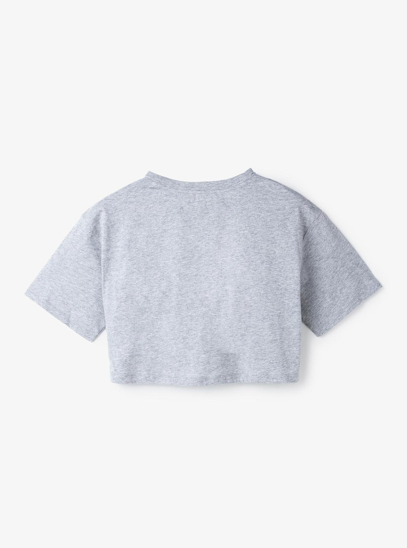 MKGO KORSロゴ クロップ Tシャツ