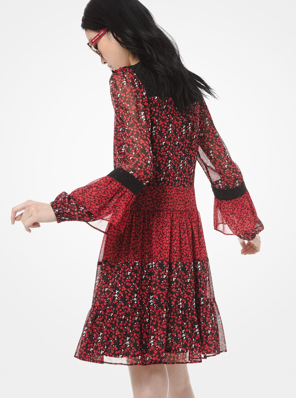 メープル グローブ ミックスドレス