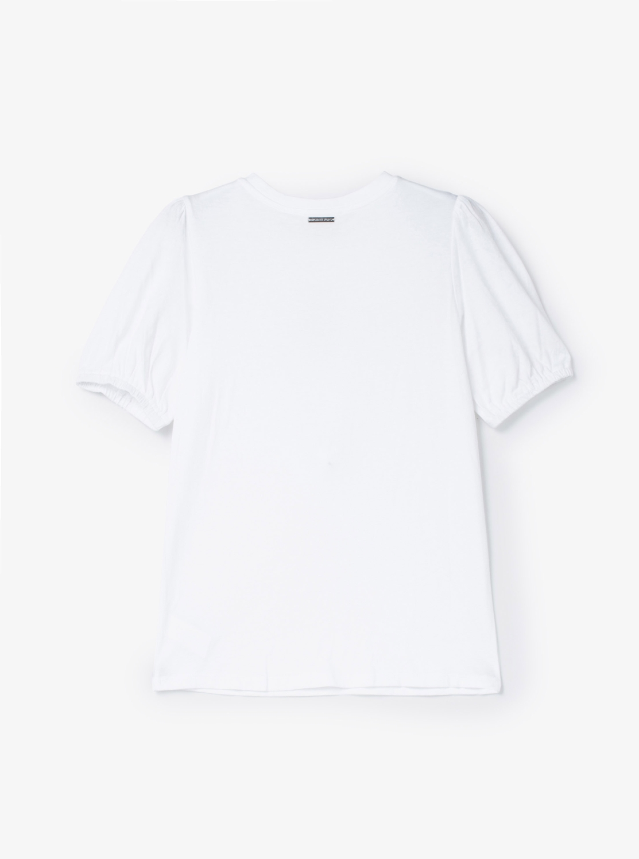 レースアップ Tシャツ