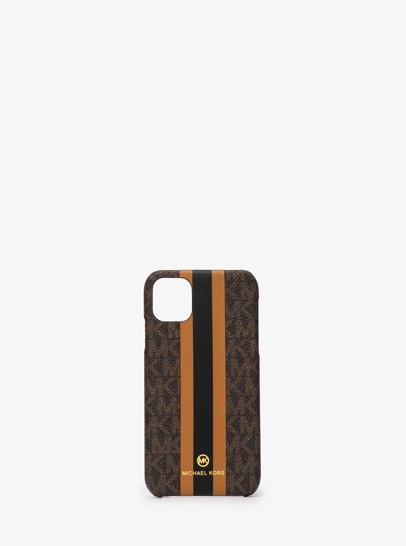 スリム フォンケース ストライプ - iPhone 11