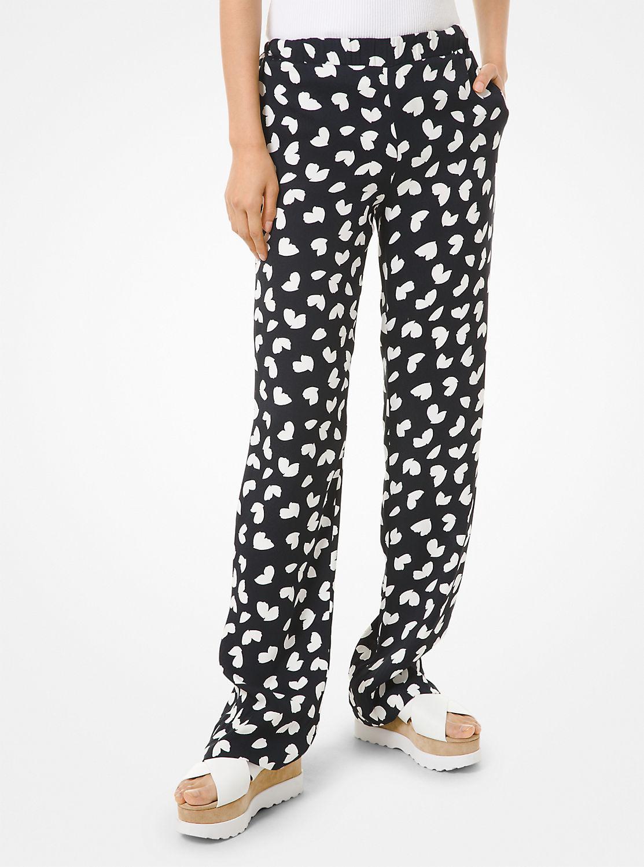 ペタルプリント パジャマパンツ