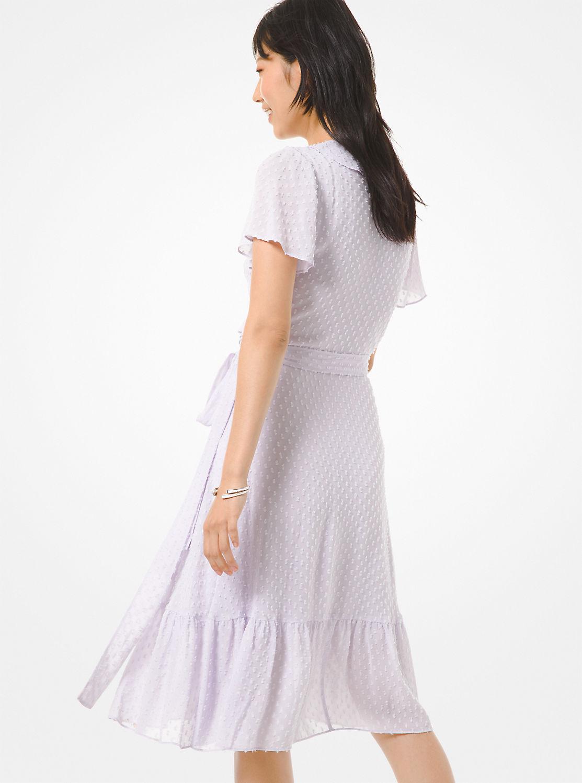 ラッフル ラップドレス