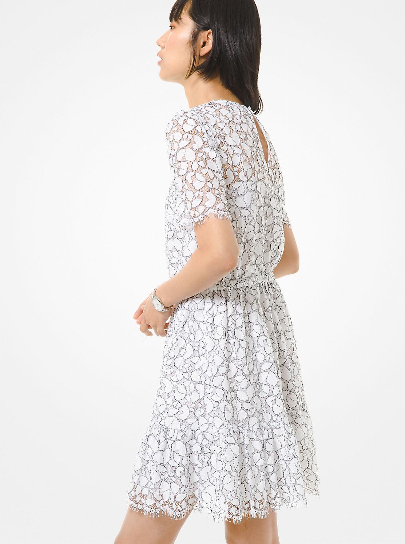 フラウンス レースドレス