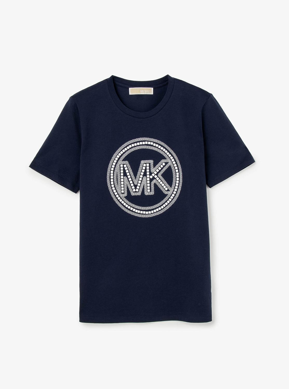 MKロゴ スタッズ Tシャツ
