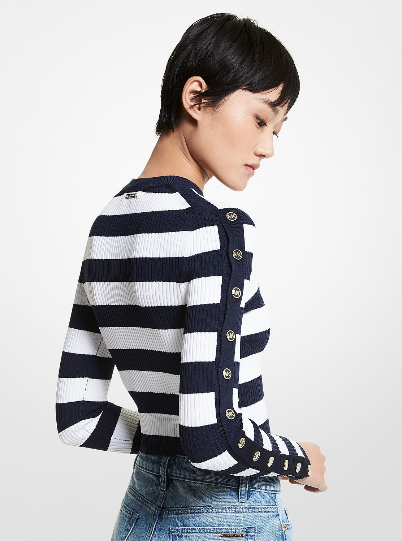 ストライプ セーター
