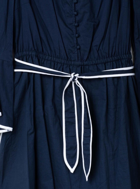 コットンローン フリルスリーブ ドレス