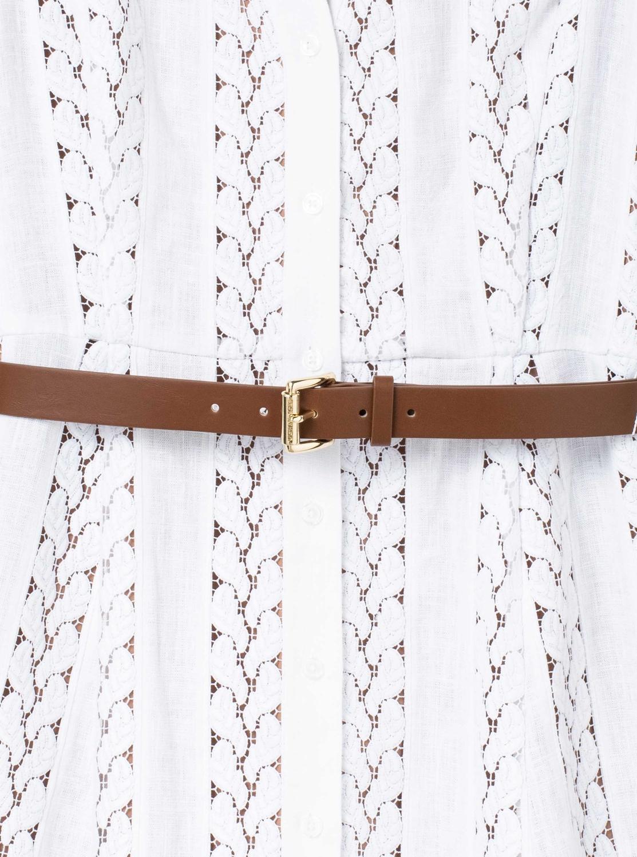 ロープ ストライプ ヘンプ ドレス