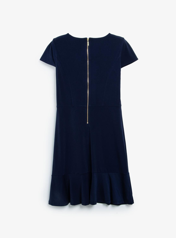 ソリッド シーム ドレス