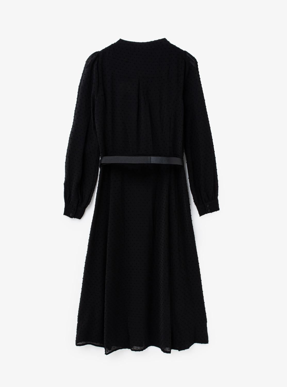 KATE クリンクル ドットドレス