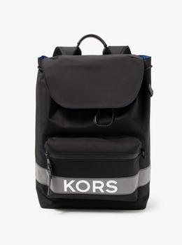 KORS x TECH KORS ロゴ フラップ バックパック