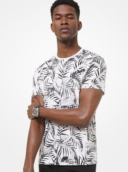 パームプリント Tシャツ