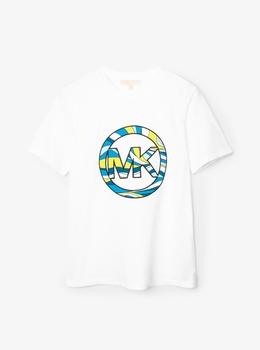 スワールグラフィック Tシャツ