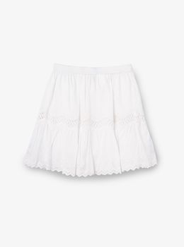 アイレット ギャザースカート